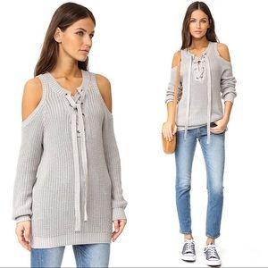 149ab6be6b0 Women Lace Up Chunky Sweater on Poshmark